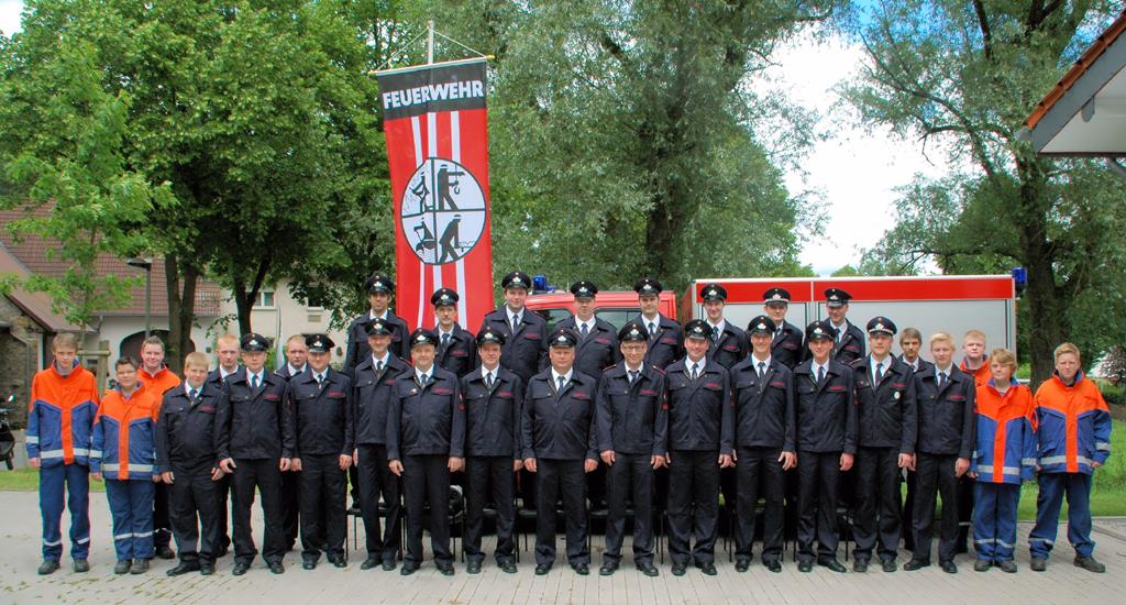 Gruppenfoto: Löschgruppe Siddinghausen 2013